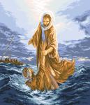 гоблен: ИСУС СПАСЯВА ПЕТЪР