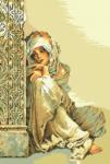гоблен: Арабско момиче 1:1