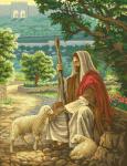 гоблен: Исус добрият пастир 1:4