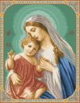 гоблен:  МАРИЯ С  МАЛКИЯ ИСУС