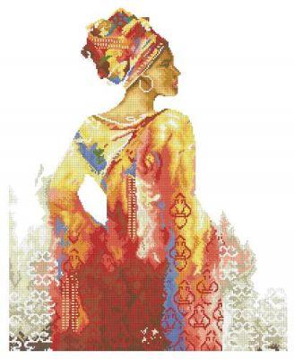 гоблен: АФРИКАНСКА ЖЕНА