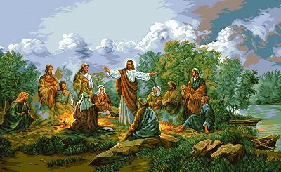 гоблен: ИСУС И АПОСТОЛИТЕ