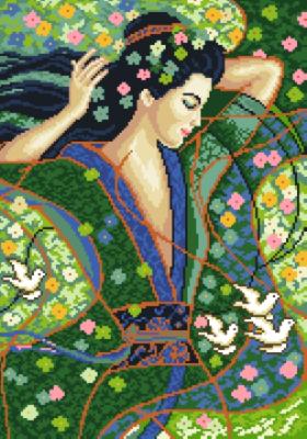 гоблен: Пролетно момиче