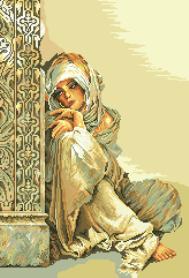 гоблен: Арабско момиче 1:4