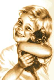 гоблен: Моето малко котенце
