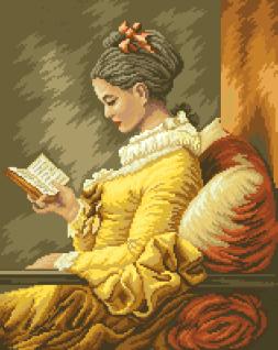 гоблен: Момичето с книгата