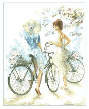 гоблен: Велосипедистките