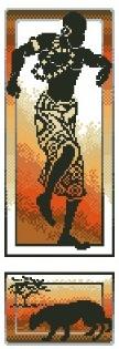 гоблен: АФРИКАНСКИ МОТИВ 3