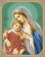 гоблен:  МАРИЯ С МАЛКИЯ ИСУС 1:4