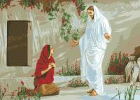 гоблен: ИСУС И МАРИЯ