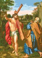гоблен: ИСУС ОТИВА НА КРЪСТА