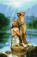 гоблен: КРЪЩЕНИЕТО НА ИСУС