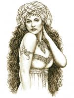 гоблен: Красавица от изтока