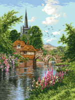 гоблен: Живописен пейзаж