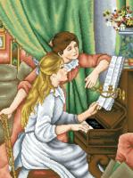 гоблен: Урок по пиано