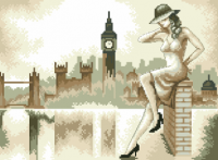 гоблен: Дама в Лондон
