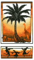 гоблен: АФРИКАНСКИ МОТИВ 1