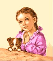гоблен:  Детска молитва
