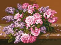 гоблен: Люляк и рози